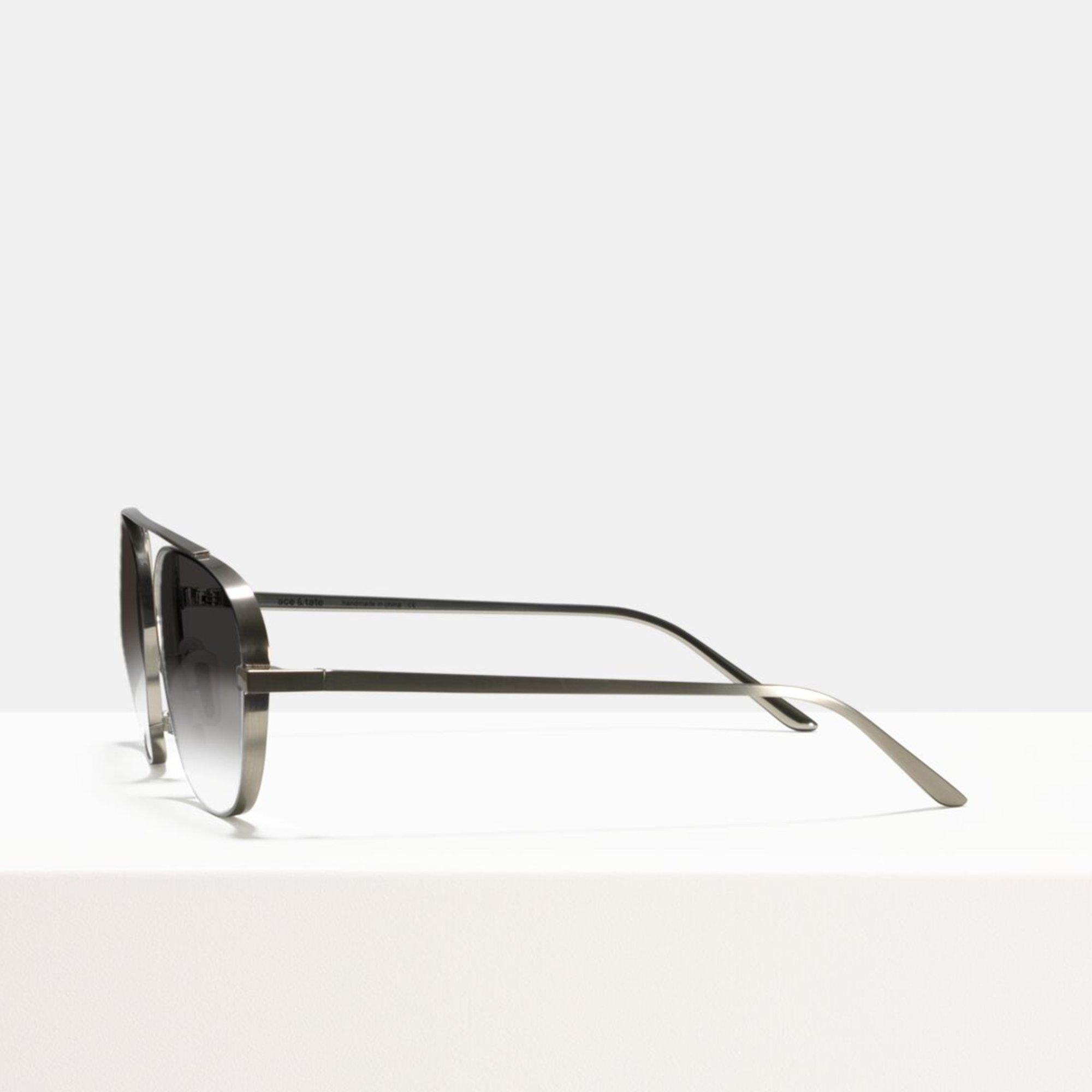 Ace & Tate Sunglasses | square titanium in Silver
