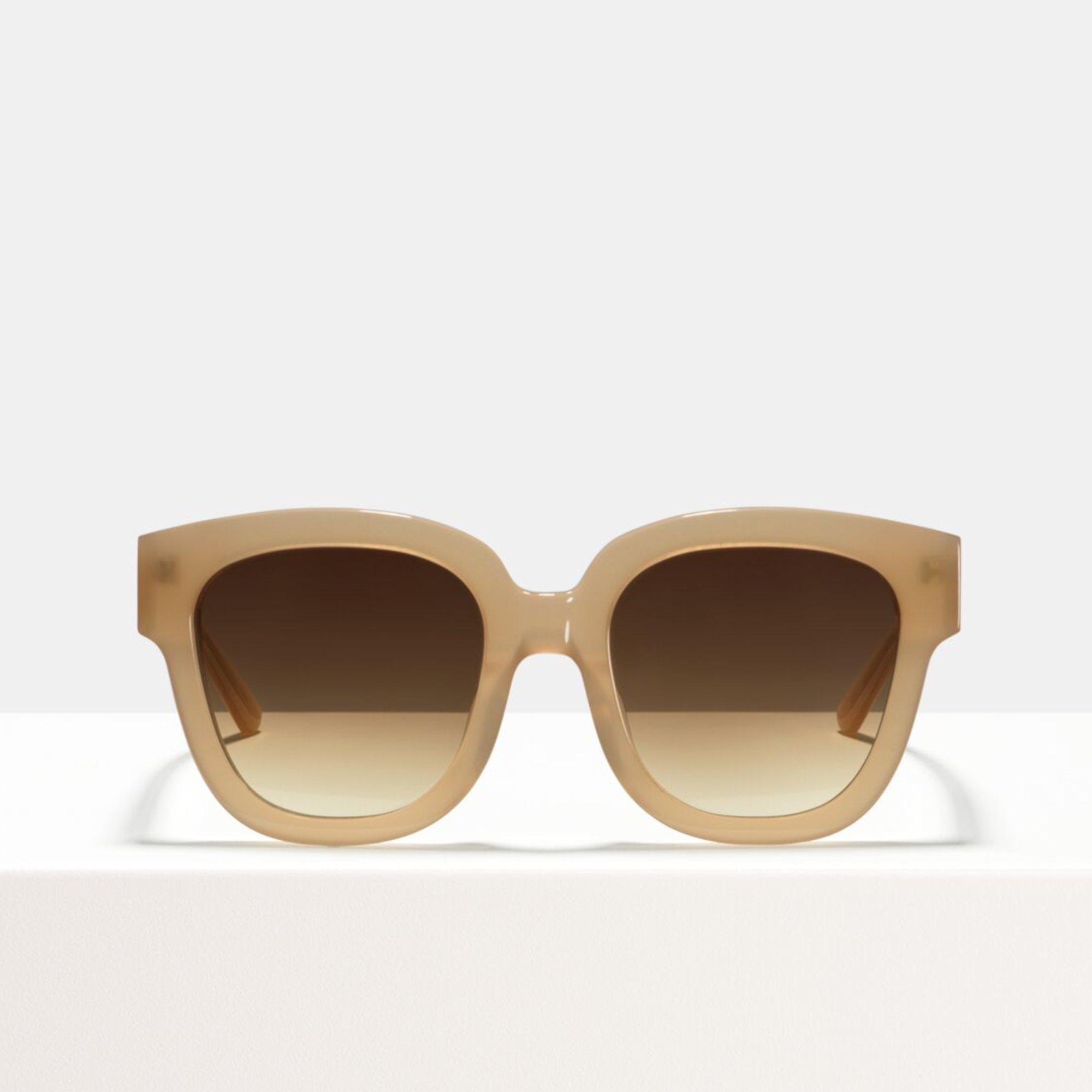 Ace & Tate Sunglasses | quadratisch Acetat in Beige
