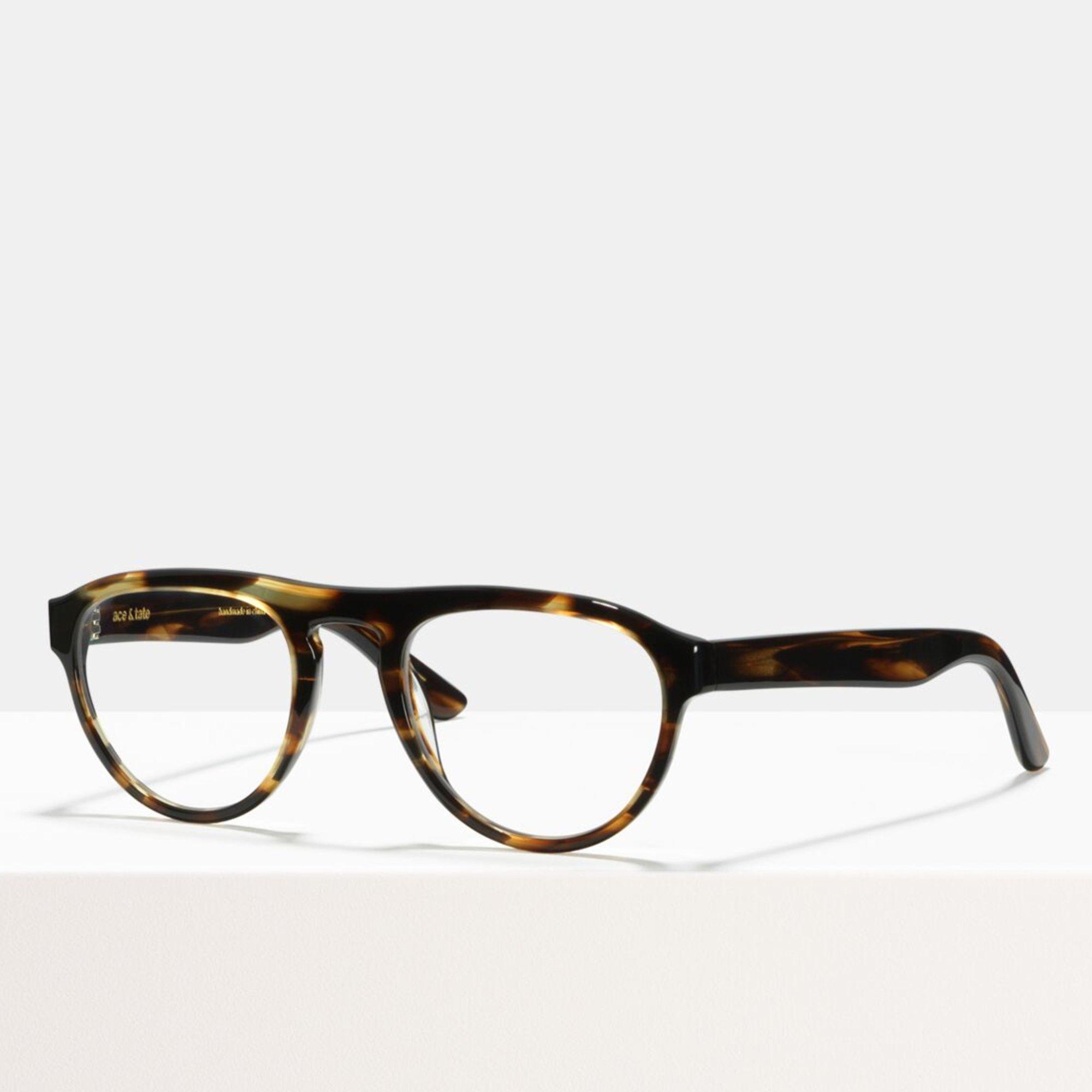 Ace & Tate Glasses |  acetate in Brown, Orange