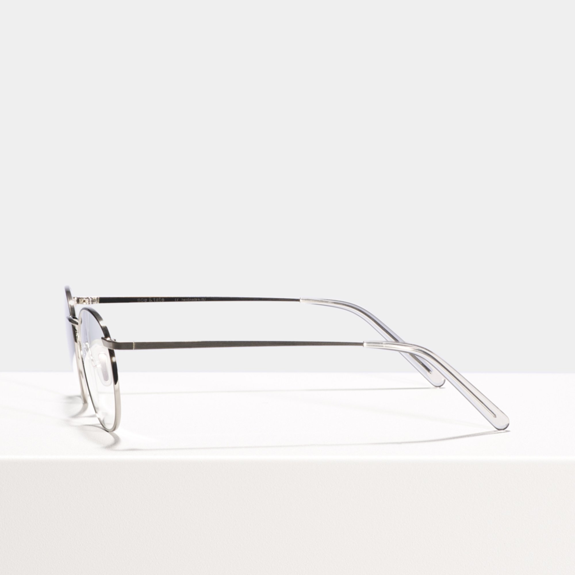 Ace & Tate Glasses   round metal in Silver