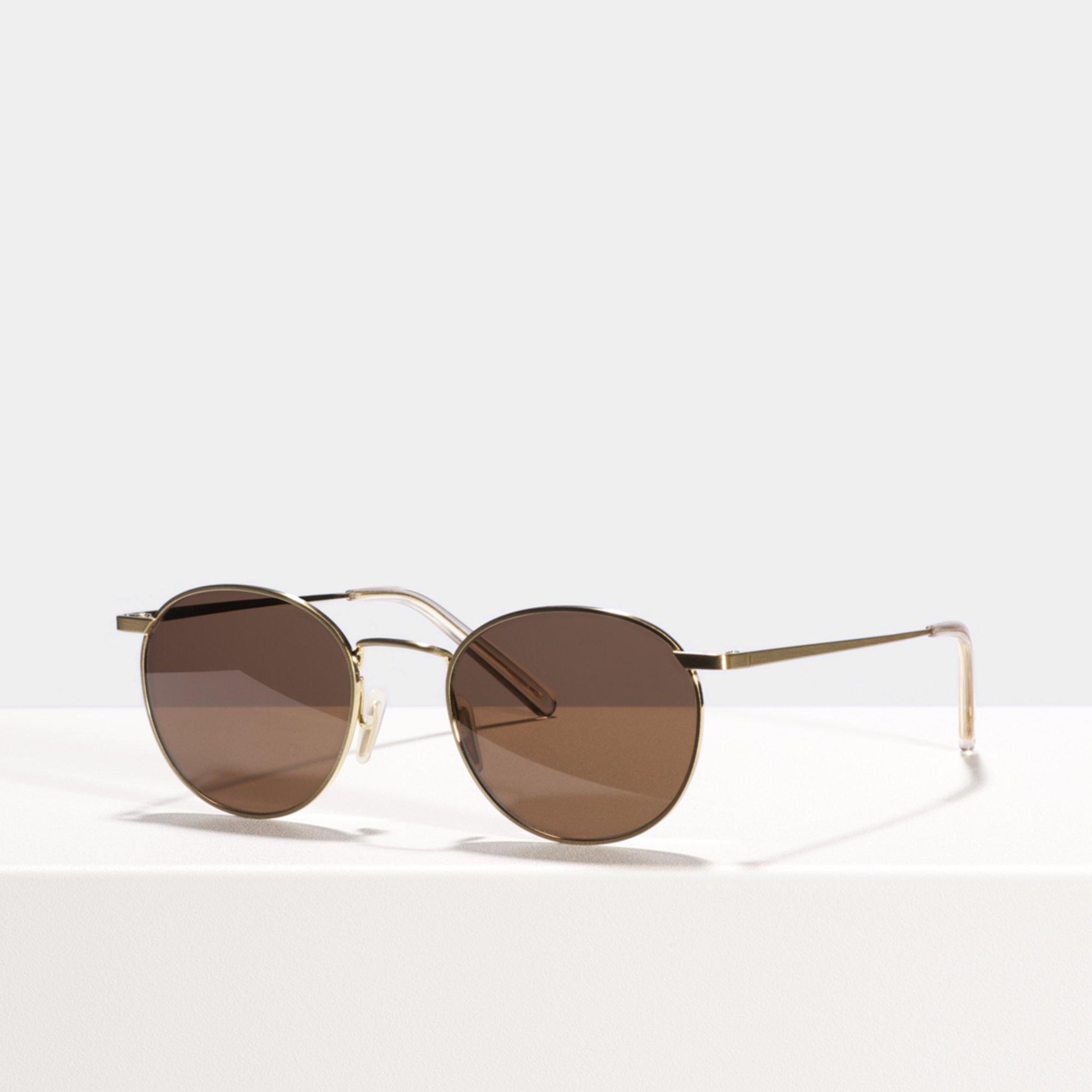 Ace & Tate Sunglasses   round titanium in Gold
