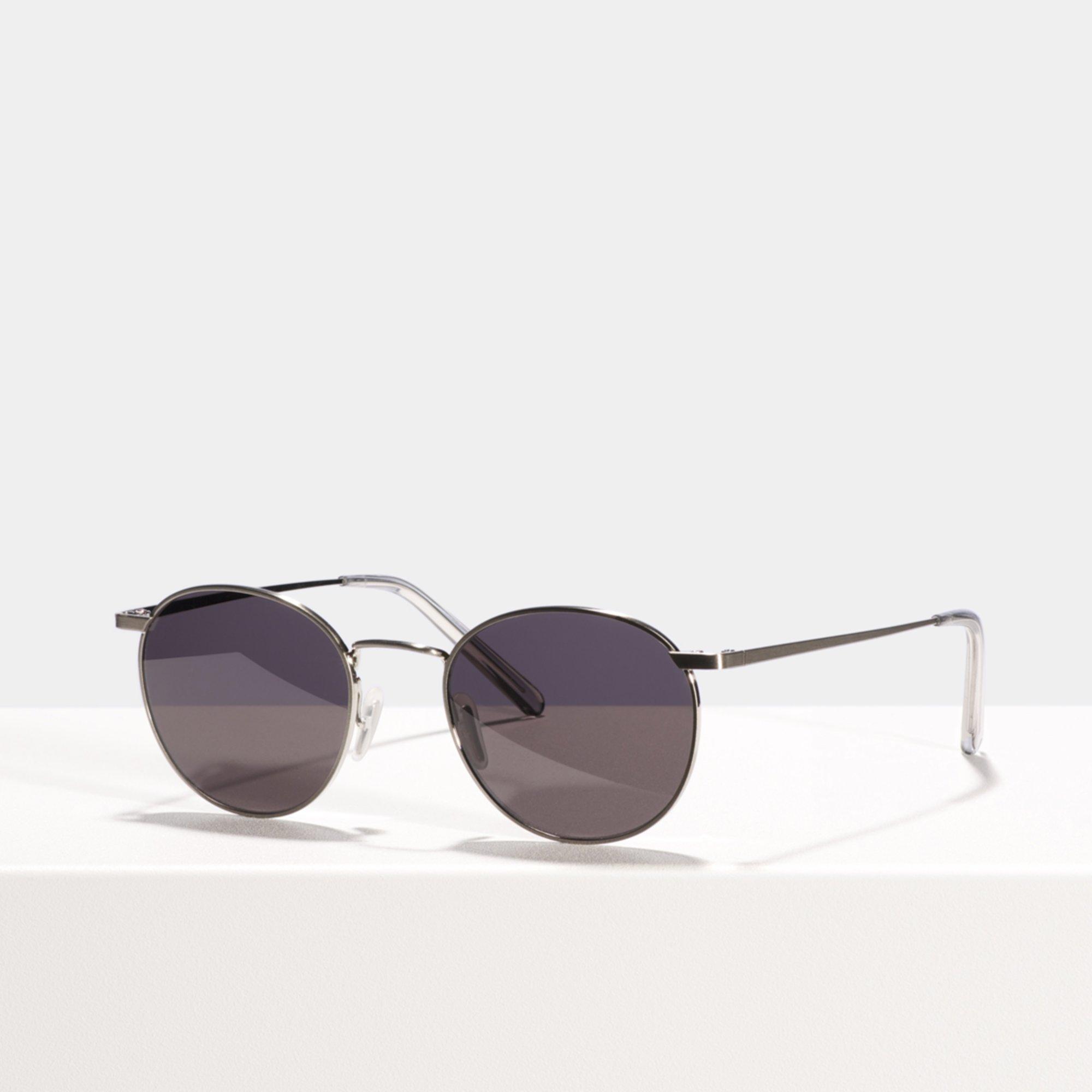 Ace & Tate Sunglasses | round titanium in Silver