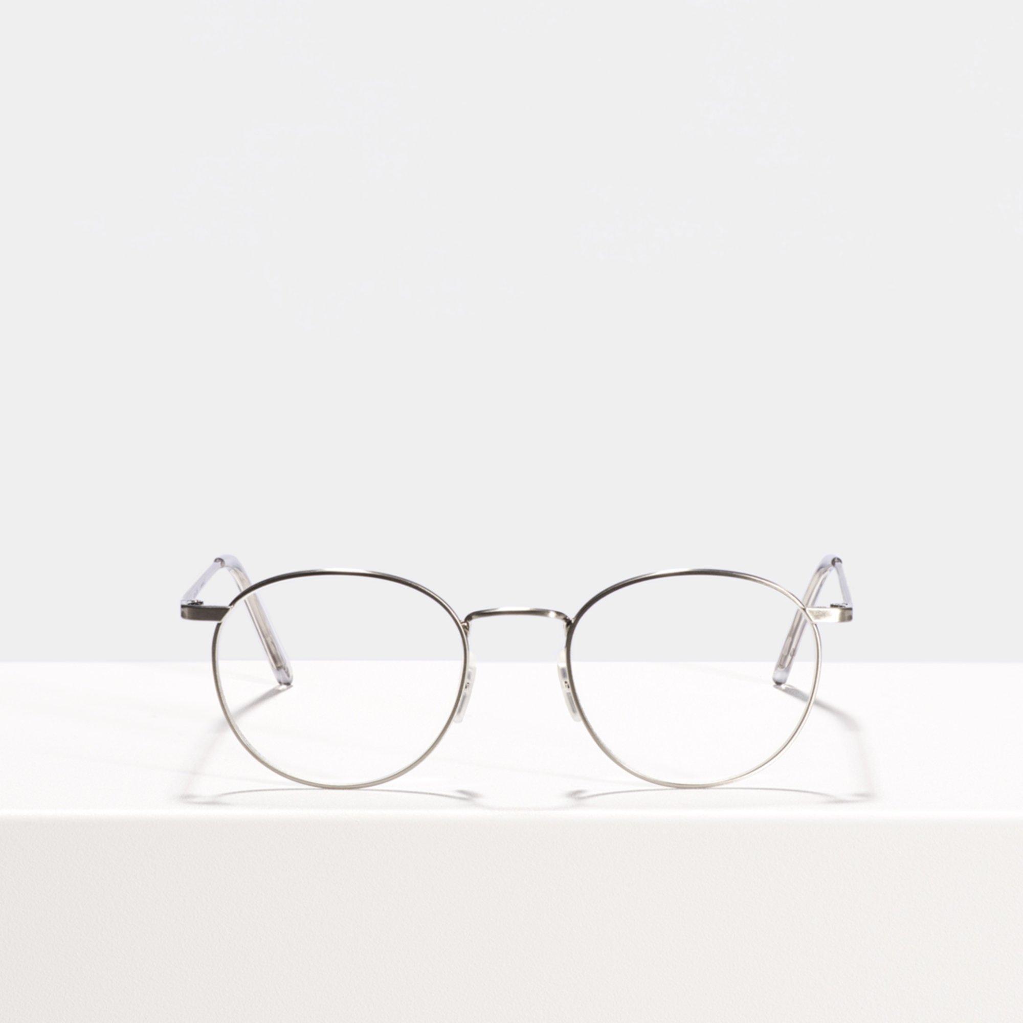 Ace & Tate Glasses | rund Titan in Silber