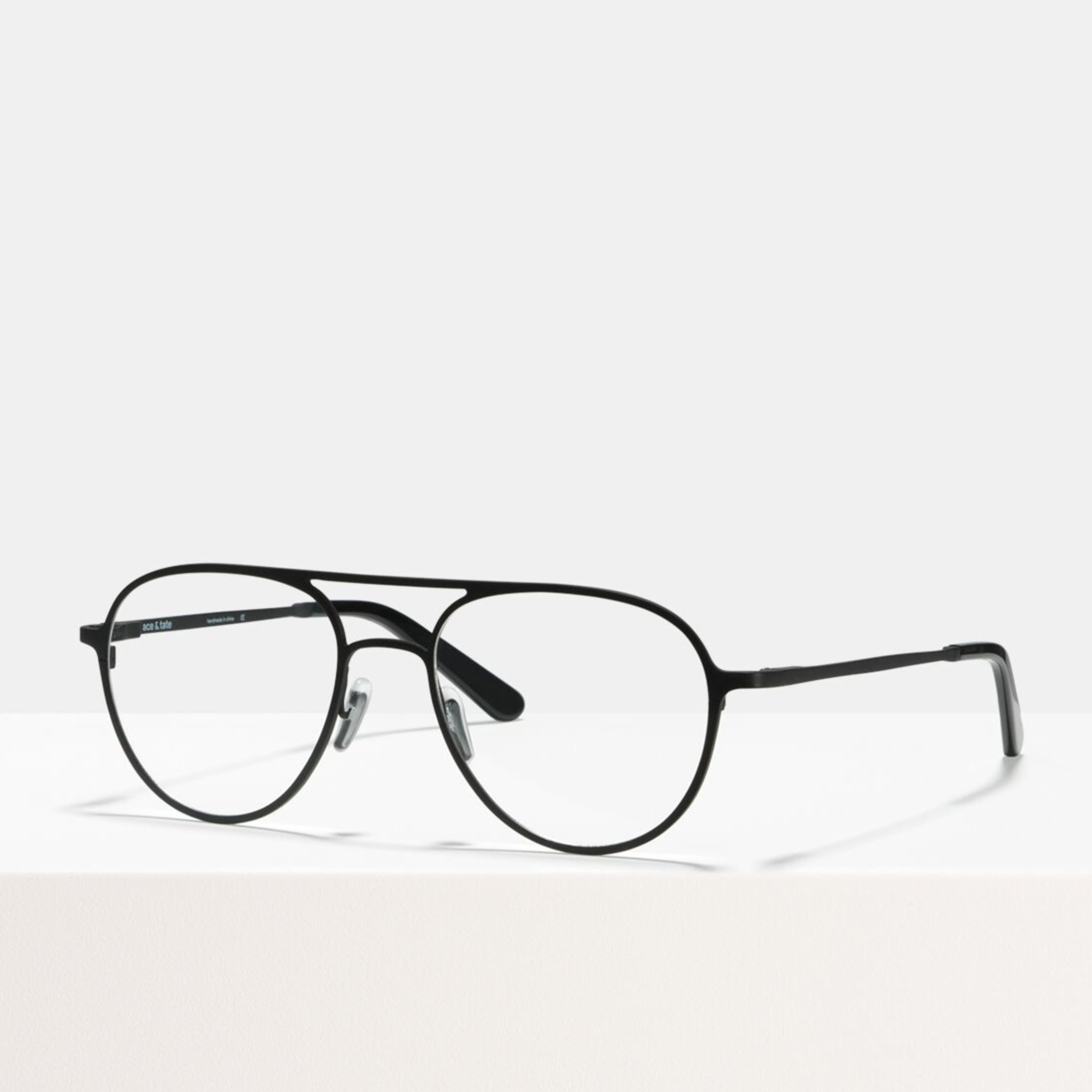 Ace & Tate Glasses |  Metall in Schwarz
