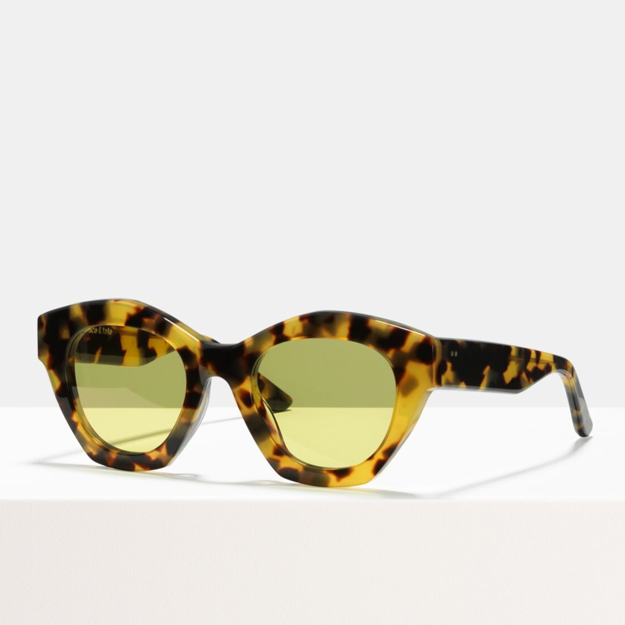 Ace & Tate Sunglasses |  acetate in Brown, Yellow