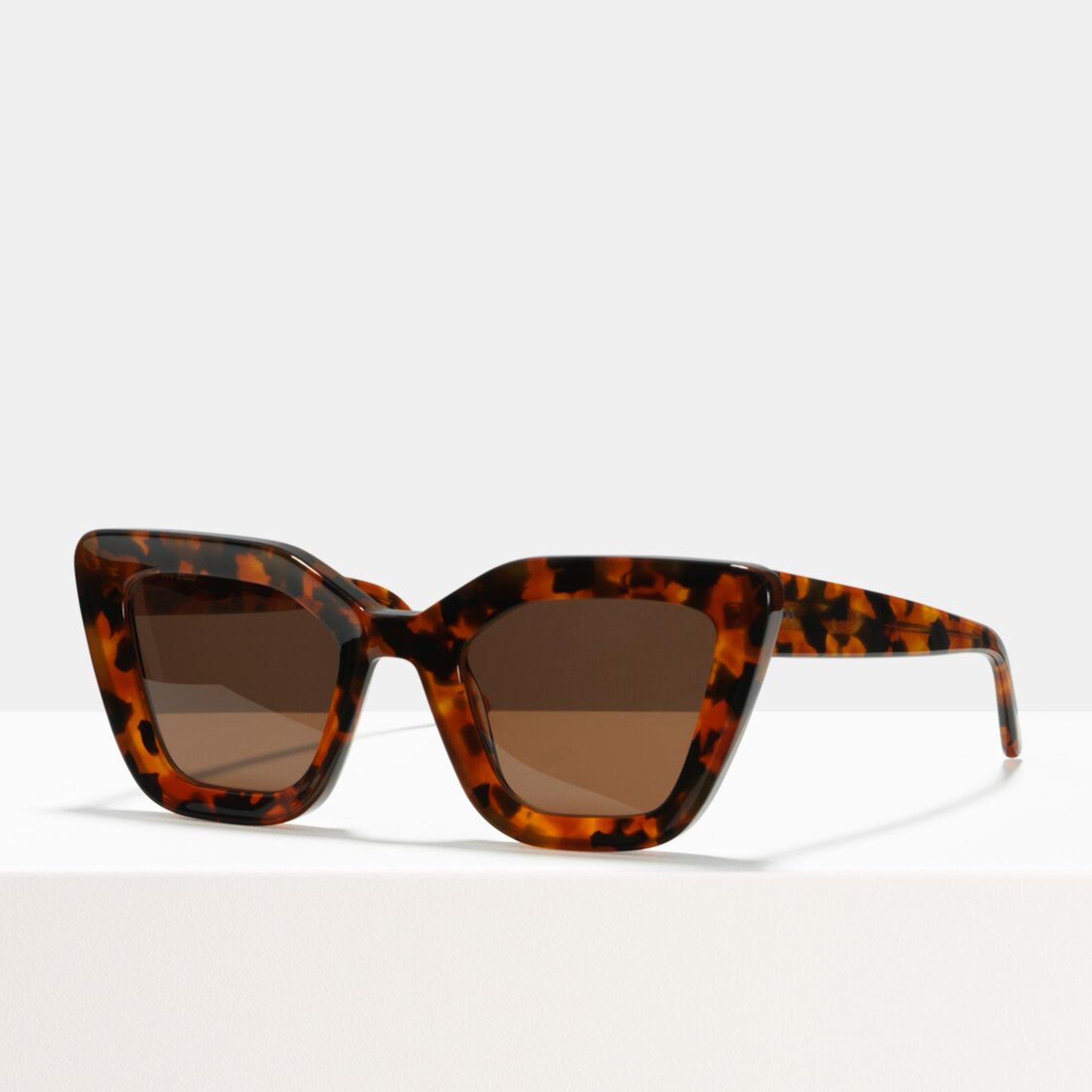 Ace & Tate Sunglasses | rectangle acetate in Orange