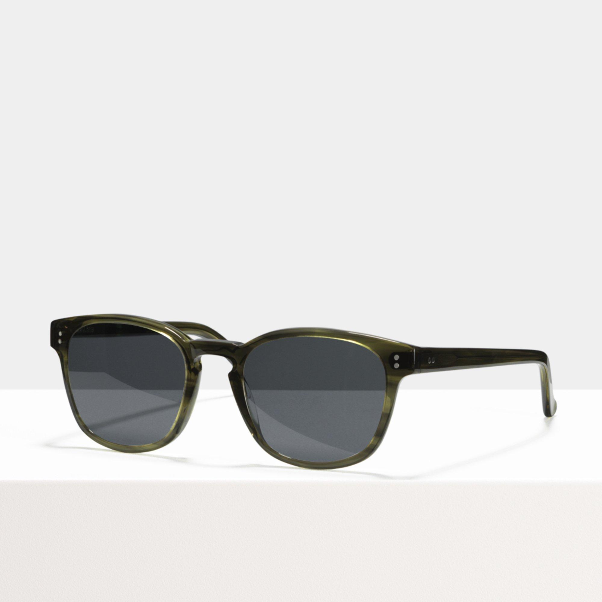 Ace & Tate Sunglasses | vierkant acetaat in Groen