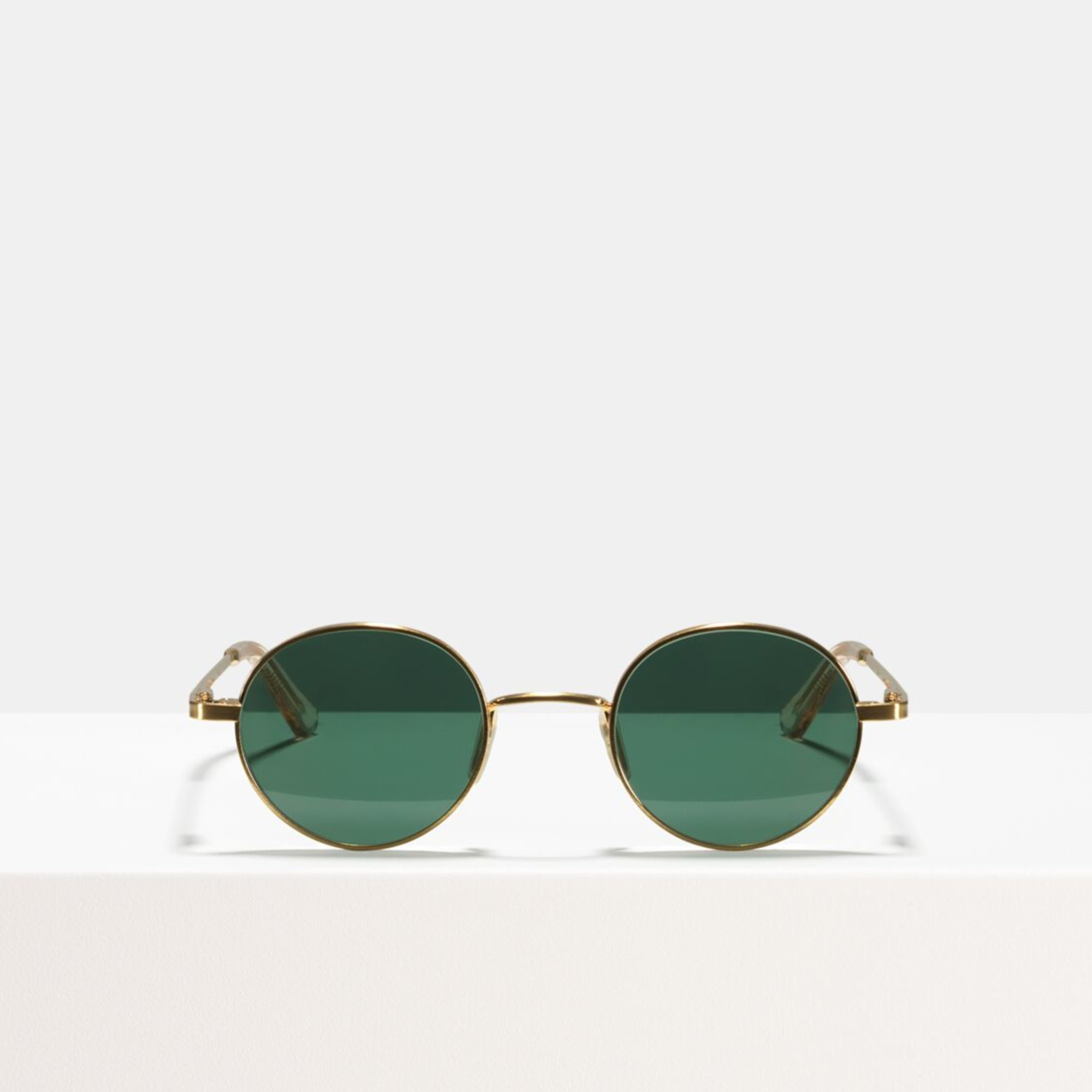 Ace & Tate Sunglasses   round metal in Gold