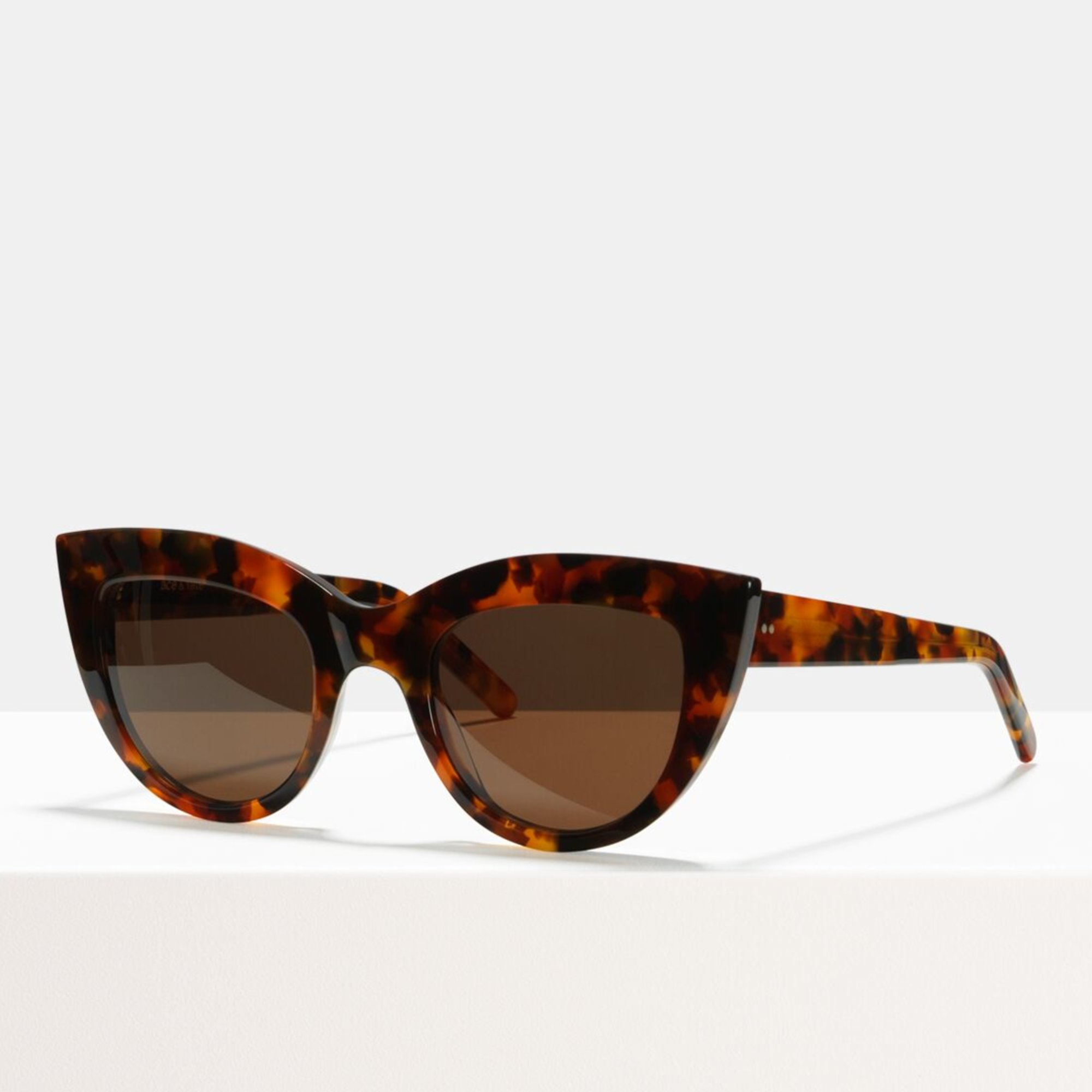 Ace & Tate Sunglasses |  acetaat in Bruin, Oranje