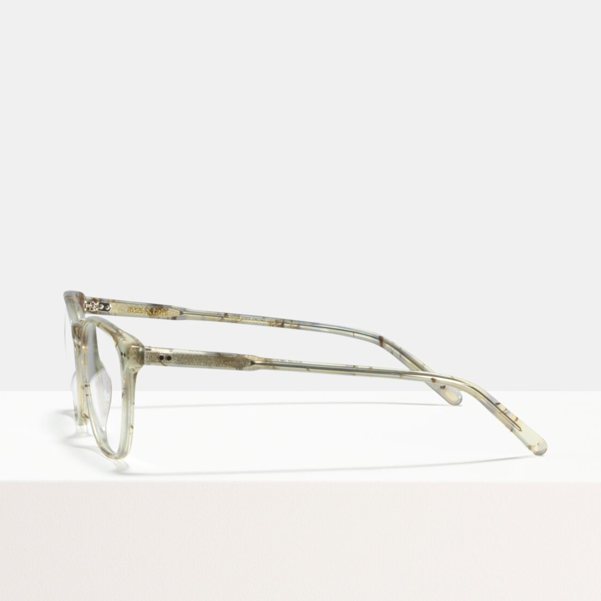Ace & Tate Glasses | square acetate in Grey, Brown, White