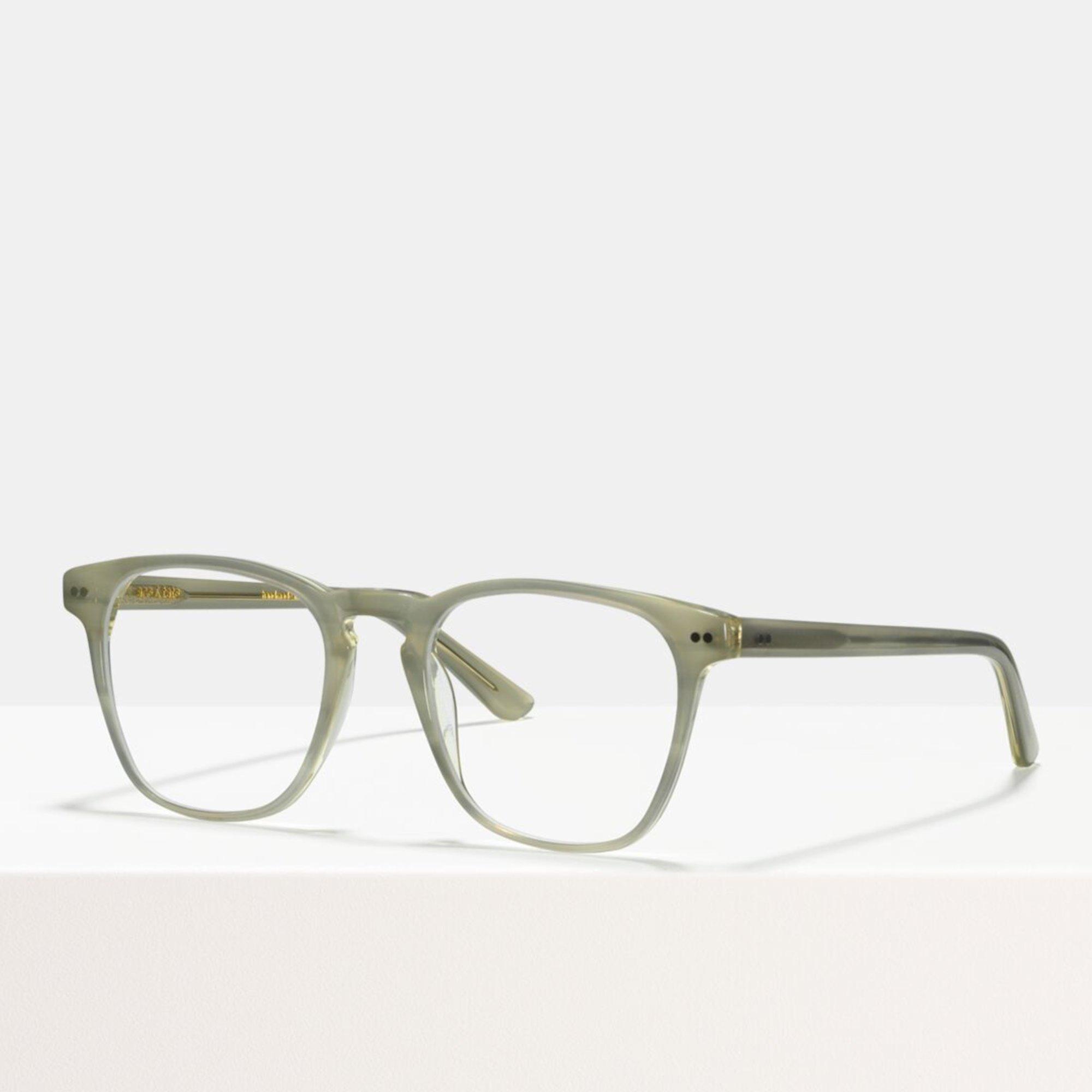Ace & Tate Glasses | square acetate in Grey, White