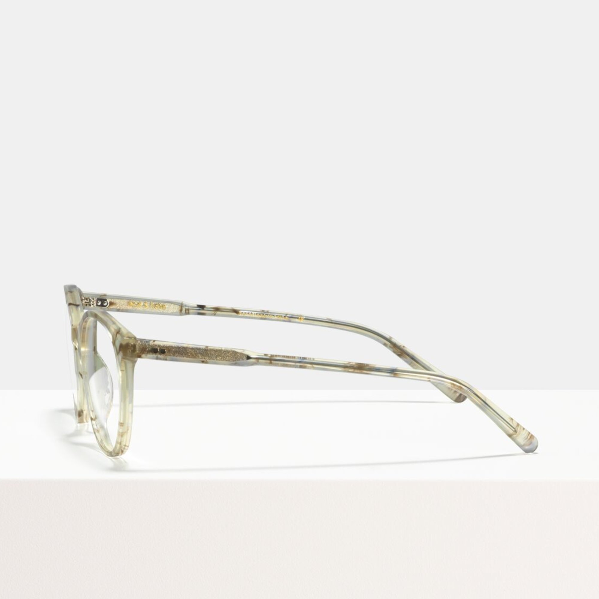 Ace & Tate Glasses   round acetate in Brown, Grey, White